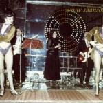 ресторан Красный. слева-Галя, справа-Стелла, сзади-Лёша Шалаев, Ольга Акопова и Саша Спивак