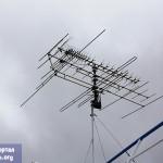 ТВ антенна теплохода А. Пушкин