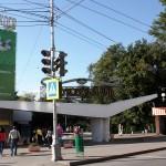 Главный вход в Струковский сад (бывший парк им. Горького)