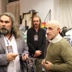 Организатор мероприятия Виталий Соловьев и Михаил Загот