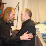 Певец Михаил Соколов и поэт Николас Деринг