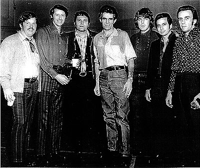 Глен Шерли с музыкантами в тюрьме Вакавилл