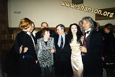 Москва, 1998 г.: М. Дунаевский, Римма Казакова, Анжела, К. Швуим