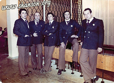 Участники коллектива, непосредственно во время свдьбы