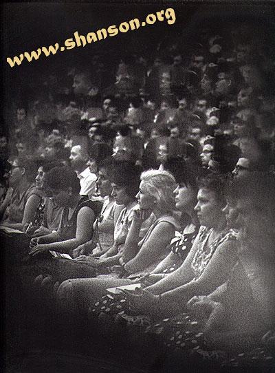 Зрительный зал, концерт В. Высоцкого в куйбышевской филармонии, 24.05.1967