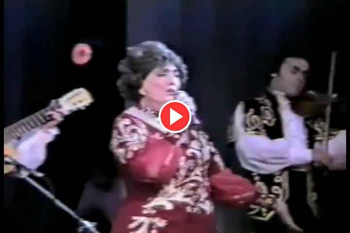 Алла Баянова на сцене Театра Оперы и Балетаим. М. Джалиля г. Казань, 24 ноября 1992г.
