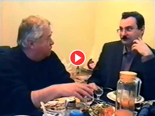 Видео из архива Владимира Урецкого «Беседа за ужином» г. Казань, 24 04.2004г.