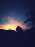 Закат в Офакиме