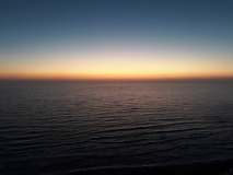 Закат в Нетании (Израиль)