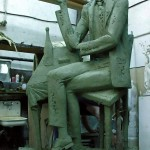 Памятник Аркадию Северному, сейчас установлен на родине певца в г. Иваново