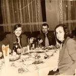 Ресторан Варна - 1976. Фима Лернер, Джон (Женя) Сейсюк, Масик , Вадик Титиевский, Марик Дойбан