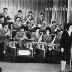 Оркестр Болотинского Дирижер Калинин. Солистка Розанова 1963г