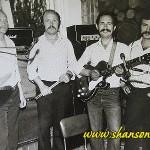 Черноморская чайка (слева: Саша Белый, Петя Ройтман, Володя Спекторский и Влад Ващенко)