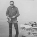 1980г. Дудинка, Енисей, рыбалка