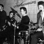 Алик Берисон, Миша Сладковский, Алик Инякин, Д.Шварц. Р/н Старый морвокзал 1970г