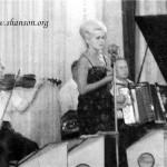 """оркестр ресторана гостиницы """"Красная"""" Скрипач Н.Кривой. Л.Гнездилова. Семнов."""