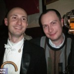 Сергей -Кабаре безумного Пьеро- и Дмитрий Завильгельский