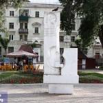Самара - сквер Высоцкого, памятник В.С. Высоцкому
