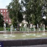 Самара - сквер Высоцкого