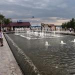 Фонтан на 1-й очереди набережной р. Волга