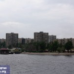 Вид на Волгу с теплохода А. Пушкин