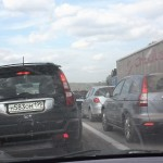 Тула - Москва - пробка - пыль