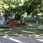 В Струкоском саду (бывший парк им. Горького)