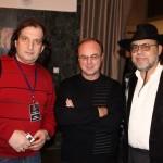 Марк Винокуров (слева) с коллегами-шансонье