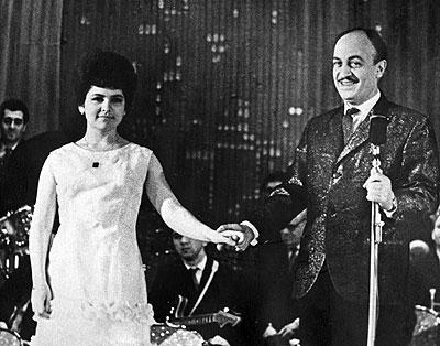 Нина Бродская и Эдди Рознер