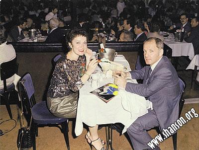 Евсей и я в ресторане – варьете «LIDO» в Париже