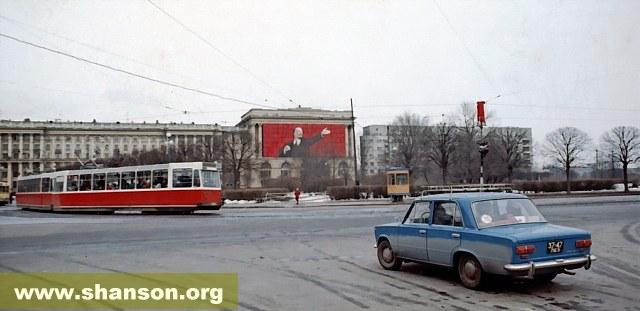 """""""Ленпроект"""", фото 1976 г. (""""Жигули"""" не Р. Фукса)"""