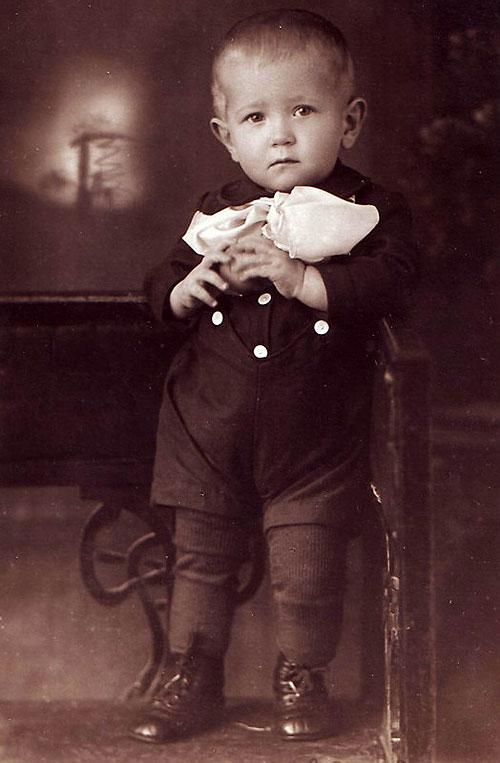 Борис Котлярчук в детстве